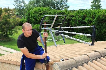 montaż anteny naziemnej