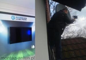 Ekstraklasa Live Park - serwis instalacji antenowej Warszawa Śródmieście